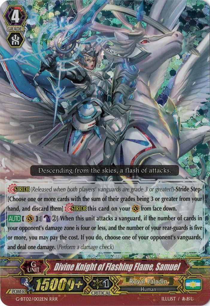 Divine Knight of Flashing Flame, Samuel - G-BT02/002EN - RRR