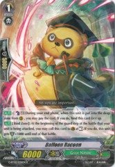 Balloon Racoon - G-BT02/038EN - R on Channel Fireball