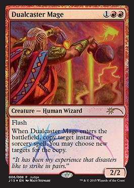 Dualcaster Mage (Judge Foil)