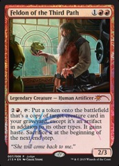 Feldon of the Third Path - Foil DCI Judge Promo