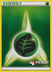 Grass Energy - 2011 Crosshatch Holo Play! Pokemon Promo