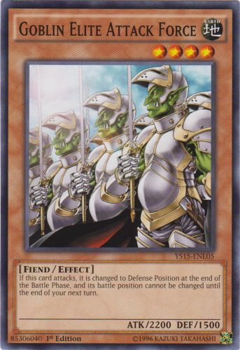 Goblin Elite Attack Force - YS15-ENL05 - Common - 1st Edition