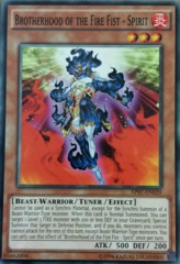 Brotherhood of the Fire Fist - Spirit - AP07-EN020 - Common - Unlimited Edition