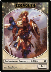 Soldier Token - Born of the Gods League Promo
