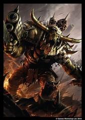Fantasy Flight Games - Warhammer Art Sleeve: Orks