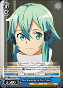Basic Knowledge of Guns, Sinon - SAO/SE23-E25 - C - Foil