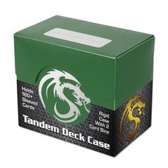 BCW Tandem Deck Case - Green
