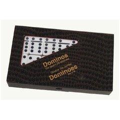 Double Six Jumbo  Dominoes with Black Dots (Set of 28)
