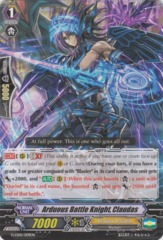 Arduous Battle Knight, Claudas - G-LD01/009EN - TD on Channel Fireball