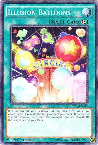 Illusion Balloons - SP15-EN044 - Common - 1st Edition