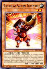 Superheavy Samurai Trumpeter - SP15-EN028 - Common - 1st Edition on Channel Fireball