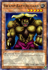 Swamp Battleguard - SP15-EN002 - Shatterfoil - 1st Edition