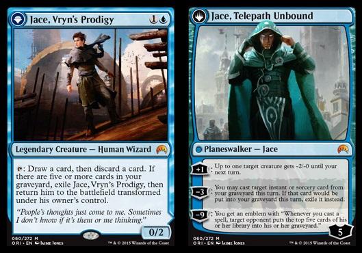 Jace, Vryns Prodigy // Jace, Telepath Unbound