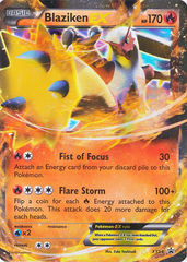 Blaziken-EX - XY54 - Hoenn Power Tin Promo