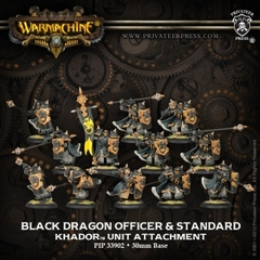 Black Dragon Iron Fang Pikemen - Unit Attachment Upgrade Kit