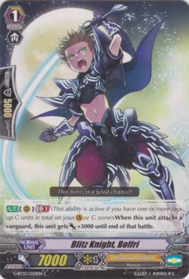 Blitz Knight, Bolfri - G-BT03/050EN - C