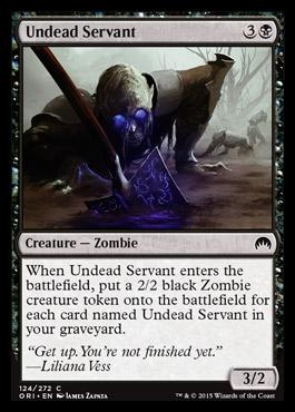 Undead Servant - Foil