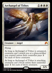 Archangel of Tithes on Channel Fireball