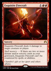 Exquisite Firecraft - Foil
