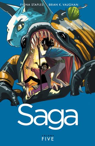 Saga Tp Vol 05 (Mr)