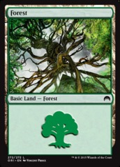 Forest (272) - Foil on Channel Fireball