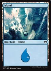 Island - Foil (259)(ORI)