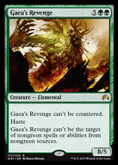 Gaea's Revenge - Foil on Channel Fireball