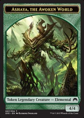 Ashaya, the Awoken World - Token (Green) Origins