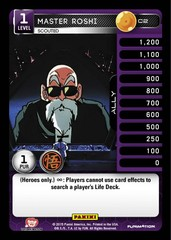 Master Roshi, Scouted C2