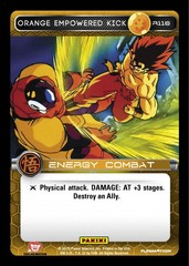 Orange Empowered Kick R116 - Foil
