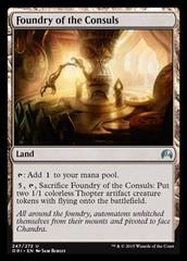 Foundry of the Consuls - Foil on Channel Fireball