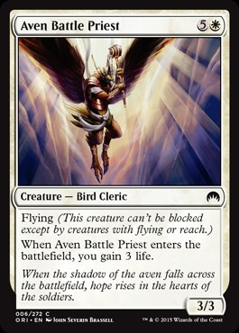Aven Battle Priest - Foil