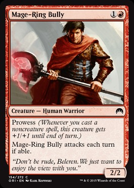 Mage-Ring Bully - Foil