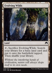 Evolving Wilds - Foil on Channel Fireball