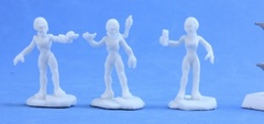 Gray Alien Scientist Sprue