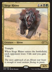 Siege Rhino - Foil