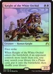Knight of the White Orchid - Foil - Prerelease Promo