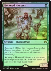 Honored Hierarch - Magic Origins Prerelease Promo