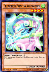 Prediction Princess Arrowsylph - DRL2-EN033 - Super Rare - 1st Edition on Channel Fireball