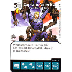 Captain America - Man Out of Time (Die & Card Combo)