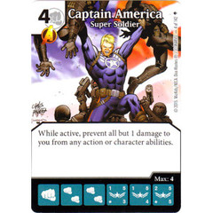 Captain America - Super Soldier (Die & Card Combo)