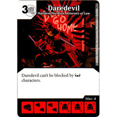 Daredevil - Matthew Murdock, Attorney-at-Law (Die & Card Combo)