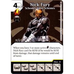 Nick Fury - Scheme Upon Schemes (Die & Card Combo)