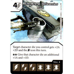 S.H.I.E.L.D. Helicarrier - Iliad (Die & Card Combo)