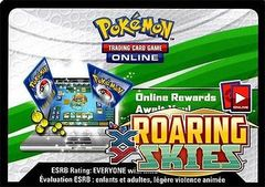 XY Roaring Skies Lot of 36 Online Code Cards