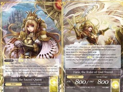 Faria, the Sacred Queen// Faria, the Ruler of God Sword - VS01-003 - R on Channel Fireball