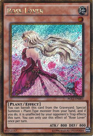Rose Lover - PGL2-EN003 - Gold Secret Rare - Unlimited Edition