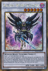 Blackwing - Nothung the Starlight - PGL2-EN013 - Gold Secret Rare - Unlimited Edition on Channel Fireball