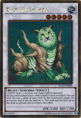 Naturia Beast - PGL2-EN086 - Gold Rare - Unlimited Edition