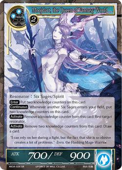 Moojdart, the Queen of Fantasy World - MOA-026 - SR (Foil)
